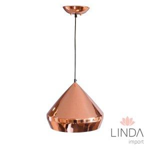 Pendente C/1 Ouro Rosa DM05