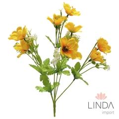 Mini Buque de Flor C/6 Galhos e Mix de Cores BI66