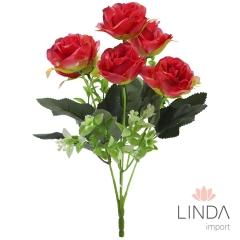Mini Buque de Rosas C/7 Galhos e Mix de Cores BI70