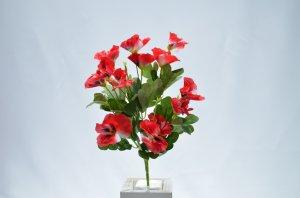 Mini Buque de Flor Amor Perfeito C/7 Galhos e Mix de Cores Bi82