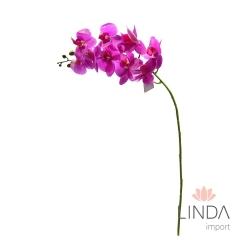 Haste de Orquidea Lilas Siliconada C/9 Flores CS06