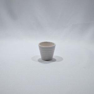 Vaso de Ceramica Branco 5 X 4, 5DR01