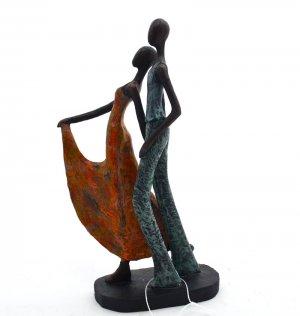 Escultura Casal de Resina AN03