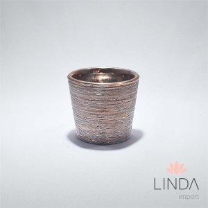 Vaso de Cerâmica Bronze DR34