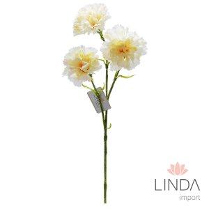 Haste de Cravo C/3 Flores e Mix de Cores DU01