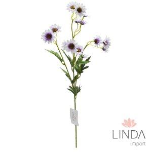 Haste de Mini Flor C/4 Galhos e Mix de Cores DU02