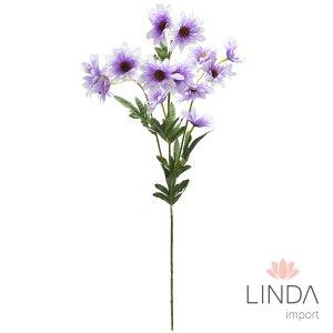 Haste de Mini Flor C/4 Galhos e Mix de Cores DU03