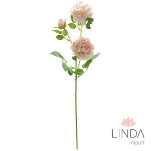 Haste de Rosa C/3 Flores e Mix de Cores DU04