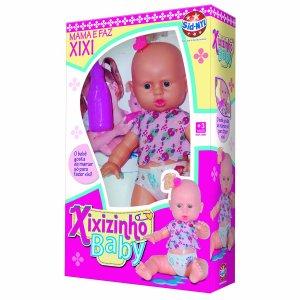 Boneca Xixizinho Baby SNL 990