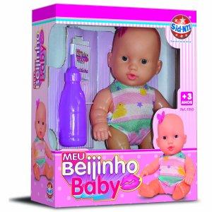 Boneca Meu Beijinho Baby SNL 1050
