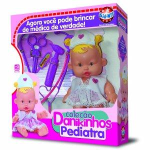 Boneca Coleção Danikinhos Pediatra SNL 1140