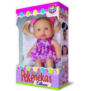 Boneca Coleção Pekenekas Estilosas SNL1280