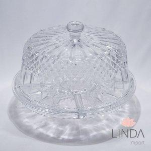 Boleira de Cristal de Chumbo 4 em 1 24x30 CZ51