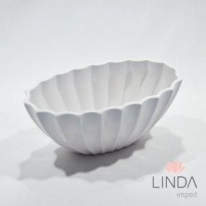 Vaso de Melamina Branco 23x10 EF02