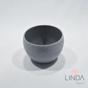 Vaso de Melamina Cinza 8x11 EF08
