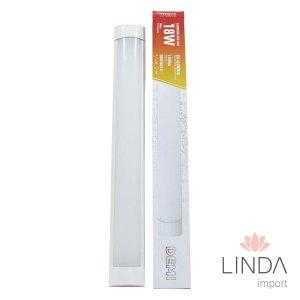 Luminaria Slim Led 100-240V Sobrepor 1200X75  36W 6500K FS12