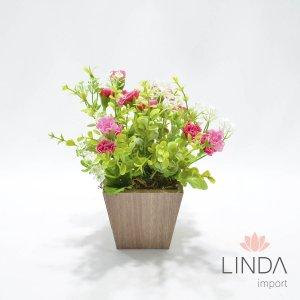 Arranjo de Flores e Complementos c/18cm AW19
