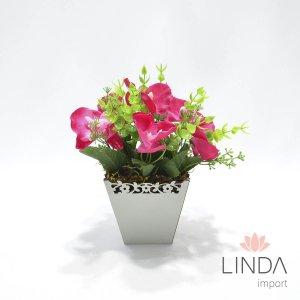 Arranjo de Flores e Complementos c/20cm AW62