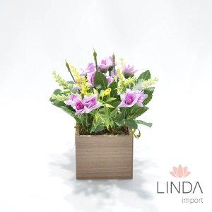Arranjo de Flores e Complementos c/18cm AW64