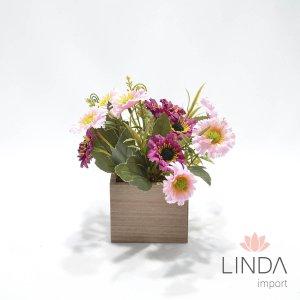 Arranjo de Flores e Complementos c/22cm AW68