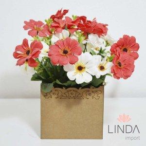 Arranjo de Flores c/ 25cm AW27