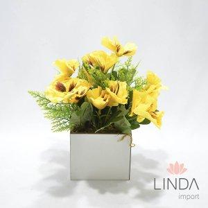 Arranjo de Flores c/ Complementos de 25cm AW63