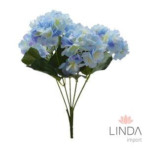 Buque de Hortencias Azul C\5 Galhos CV03