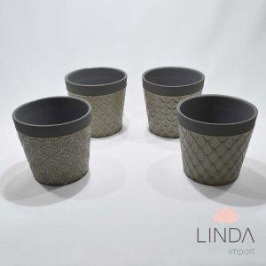 Vaso de Ceramica Mix 12X13 DR30