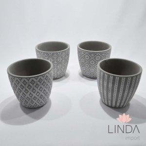 Vaso de Ceramica Mix 12X13 DR31