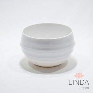 Vaso de Melamina Branco 10X7 Ef01