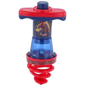 Piao Espiral Luminoso do Spider Man Edy 042