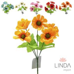 Mini Buque de Flores do Campo C\5 Galhos e Mix de Cores Eu04