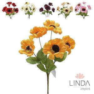 Mini Buque de Flores do Campo C\5 Galhos e Mix de Cores Eu05