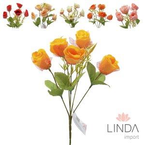 Mini Buque de Rosas C\5 Galhos e Mix de Cores Eu07