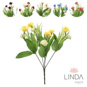 Mini Buque de Flores do Campo C\5 Galhos e Mix de Cores Eu09