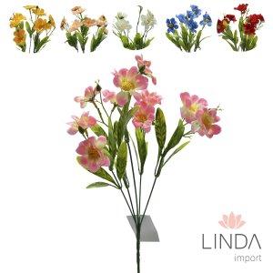 Mini Buque de Flores do Campo C\5 Galhos e Mix de Cores Eu16