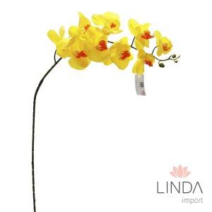 Haste de Orquidea Amarela 3D C\9 Flores Ev02