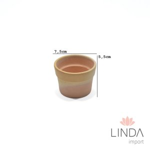 Vaso de Ceramica 7,5X5,5 048 Ga03