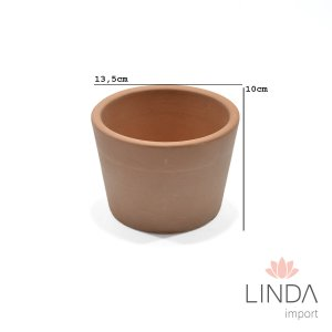 Vaso de Ceramica 13,5X10 203 Ga09