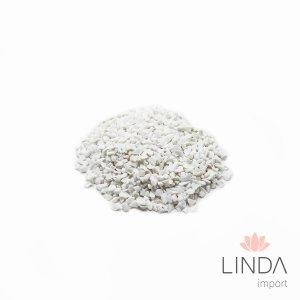 Pedra Tamanho 0 1KG Branca SPN 09