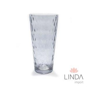 Vaso de Vidro Azul 25X12 Vid0925 GN16