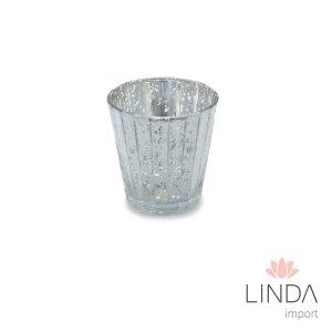 Vaso de Vidro 7X7 Dec01219 GN64